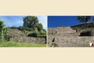 Trockenmauern Vorher-Nachher