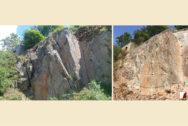 Felssicherung vorher und nachher